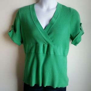 Lane Bryant short sleeve sweater size 22/24